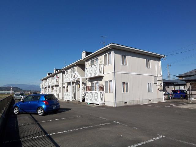 フェ二ックス105号。東船岡駅前で、見晴らしの良い2LDKアパート。ペット持込相談。住替えラクラクキャンペーン中です。