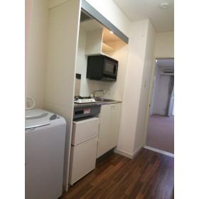 ・洗濯機・電子レンジ付(キッチン)