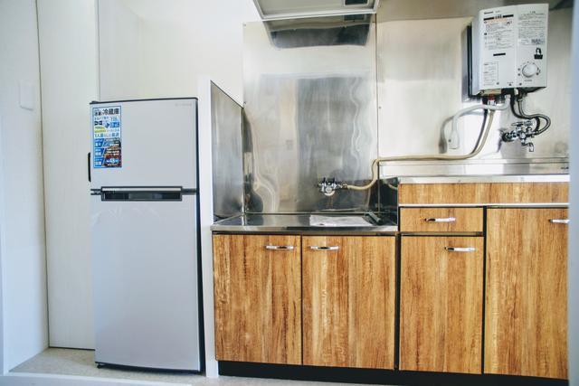 冷蔵庫・洗濯機・電子レンジ付(キッチン)