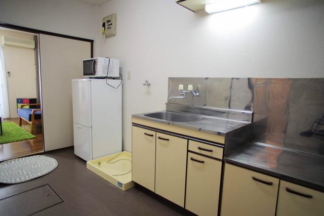 冷蔵庫・電子レンジ付(キッチン)