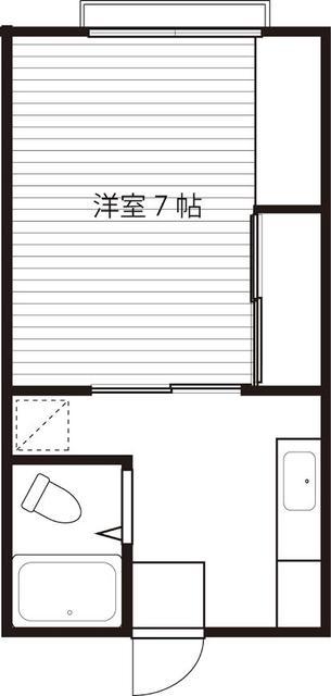 洋室7帖(間取)