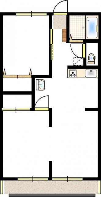 和室6帖+和室6帖+洋室5.5帖)